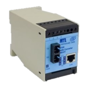 9465-ET-M-ST Copper To Fibre Intrinsically Safe Converter