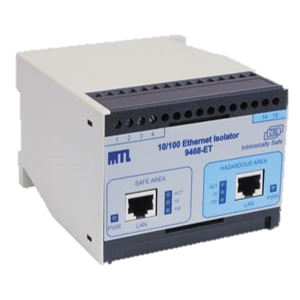 9468-ET Intrinsically Safe Intrinsically Safe Ethernet Isolator