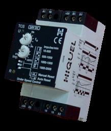 TCS-H 230VAC HIQUEL Under Speed Relay