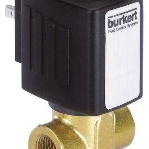 Burkert Type 6240 – Servo-assisted 2/2 Way Piston Valve