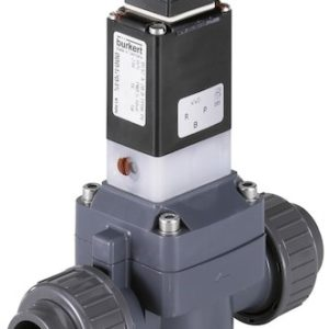 Burkert Type 0142 – Diaphragm Valve 2/2 Way Servo-assisted