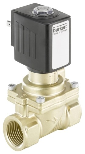 Type 6281 – Servo-assisted 2/2 Way Diaphragm Valve