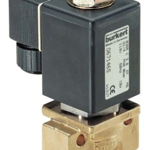 Type 0355 – Solenoid Valve For Neutral Media And Steam Up To 180 °C