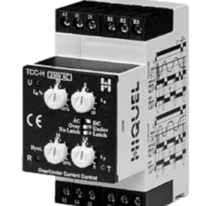 TCC-H-230VAC HIQUEL Over Or Under Current Relay
