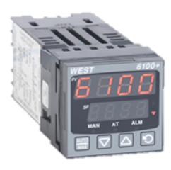 West P6100 PID Controller 100 – 240V AC